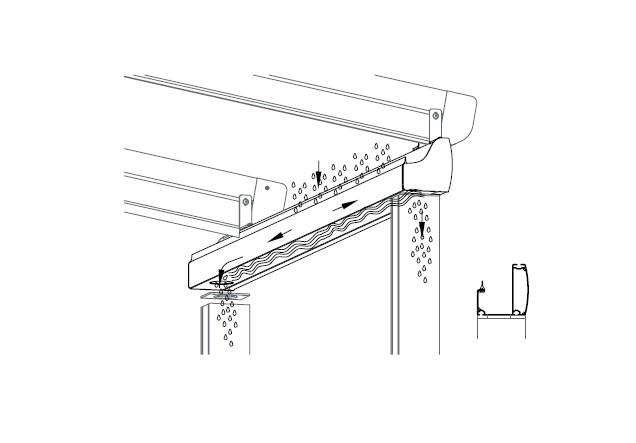 سیستم آب بندی سقف های متحرک